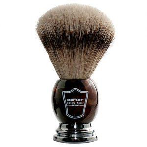 Parker Silvertip Badger Bristle Faux Horn Handle Shaving Brush Review