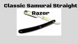 Classic Samurai Straight Razor Review